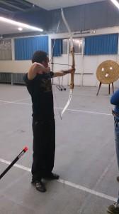 Initiation tir à l'arc en Vendée
