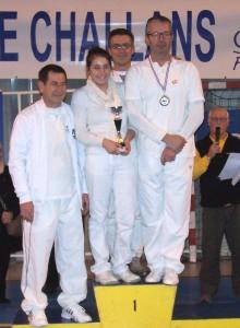 1ère place en équipe mixte Challans 2013